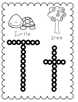 Alphabet Activities:  Q-tip/Cotton Swab Alphabet