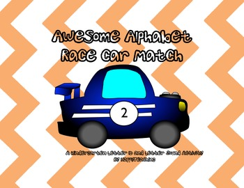 Awesome Alphabet Racecar Match