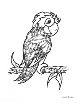 Awesome Animal Coloring Pages 1
