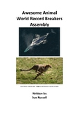 Awesome Animal World Record Breakers Class Play or Assembly