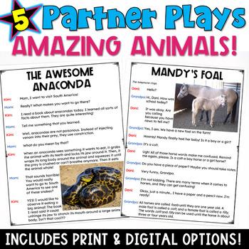 Amazing Animals: Partner Plays