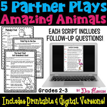 Amazing Animals: Partner Plays