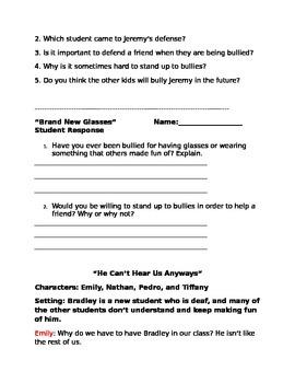 Awesome Anti-Bullying Skits- Pack 3