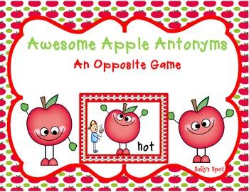 Awesome Antonym Apples