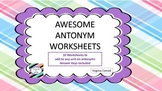 Antonym Worksheets