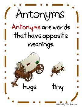 Awesome Antonyms