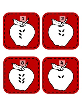 Awesome Apple Centers for the Beginning of the Year