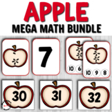 Awesome Apple Math Centers for Preschool or Kindergarten