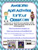 April Enrichment Unit--Earth Day, Arbor Day, Baseball, and More!