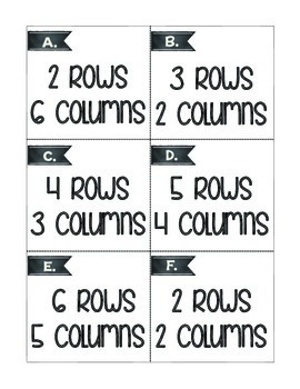 Awesome Array Activities to Build Multiplication Skills