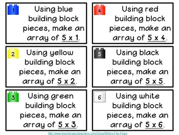 Awesome Arrays - Building Blocks to Multiplication x5