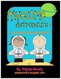 Awesome Astronauts! Aw and Au Word Work Packet