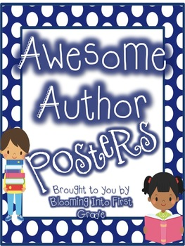 Awesome Author Posters FREEBIE!
