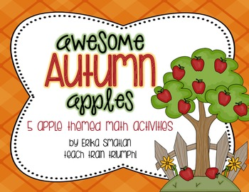Awesome Autumn Apples {5 Math Activities}