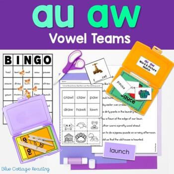 Au and Aw Phonics Unit