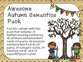 Awesome Autumn Semantics Pack