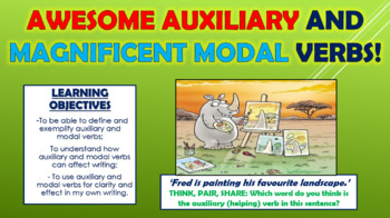 Awesome Auxiliary and Magnificent Modal Verbs!