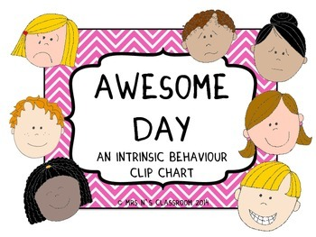 FREE Awesome Day Clip Chart