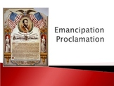 Awesome Emancipation Proclamation PowerPoint