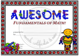 Awesome Fundamentals of Math