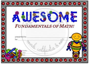 Awesome Fundamentals of Math