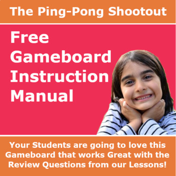 Awesome Gameboard Instruction Manual – The Ping Pong Shootout
