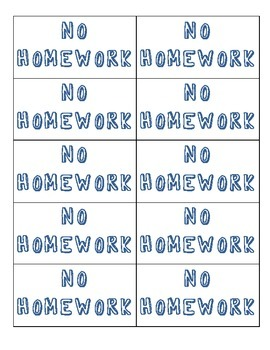 Awesome Homework Catalogue