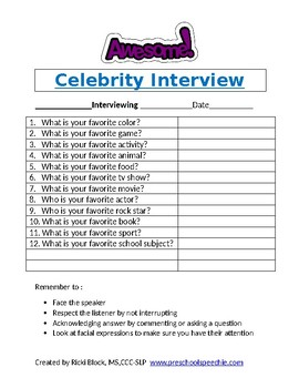Awesome Interview Questions