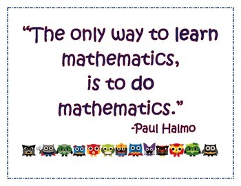 Awesome Math Quote