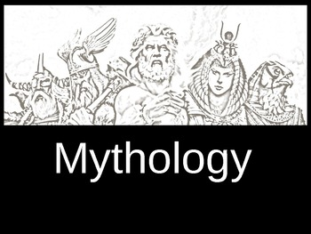 Awesome Mythology Notes and Introduction PowerPoint with Questions