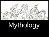 Awesome Mythology Notes and Introduction PowerPoint with Q