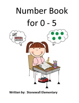 Awesome Number Book for the Numbers 0-5