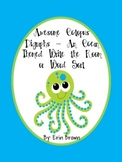 Awesome Octopus Digraphs-Ocean Themed Write the Room/Word Sort