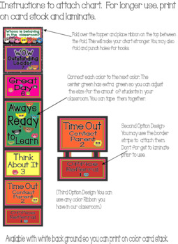 Back to School Owl Behavior Clip Pack