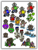 Awesome Otters Clipart (10 FREE Elements Included) Embelli