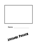 Awesome Possum novel Lapbook