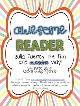 Awesome Reader - Build Fluency {Get Started Kit}