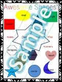 Preschool Shapes Anchor Chart
