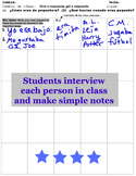 Imperfect tense, imperfecto Spanish Interview activity: Cu
