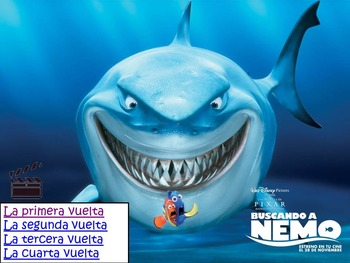Awesome Spanish Movie Scenes Electronic Game - Finding Nemo