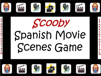 Awesome Spanish Movie Scenes FUN Game - Scooby Doo