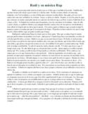 Awesome Spanish story - Raúl y su música rap - School theme