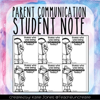 Awesome Student Note