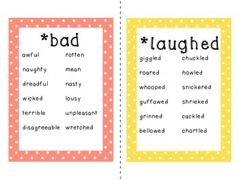 Awesome Synonyms!