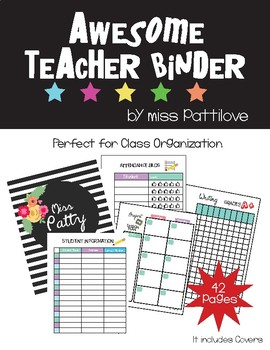 Awesome Teacher Binder*