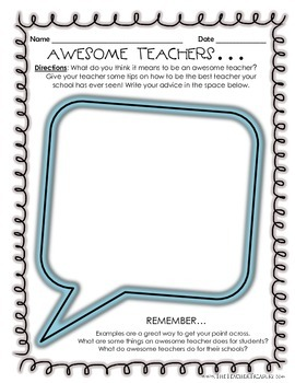 Awesome Teachers...