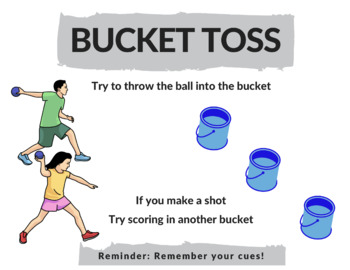 Awesome Throwing and Catching Station Activities for PE Class