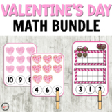 Awesome Valentine's Day Math Centers for Preschool or Kindergarten