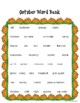 October Halloween Creative Writing and Journal Prompts with Writing Templates