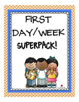Awesome first day and /or first week activities